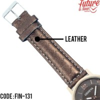 New Produk Jam Tangan Fashion Wanita Analog Leather Strap - 4 Pilihan