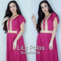 Daster Arab/India/Dubai/Turki Dolce Lily Dress Busui