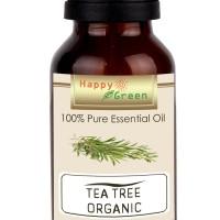 Happy Green ORGANIC Tea Tree Essential Oil (10 ml) -Murni 100% Organik