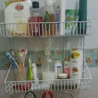 Rak Bumbu Dapur/Rak Kamar Mandi (tempat sabun)
