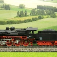 Piko H0 Steam Loco with Tender DR BR38 234 MX b1072