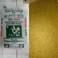 Pakan Makanan Ternak Ayam Unggas Pedaging Pur Bravo 512 Repack 1kg