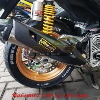 Knalpot Standar Racing RCB1 Power Boom Yamaha Aerox 155 Lexi