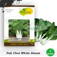 Benih-Bibit Sawi Pakcoy White Steam (Haira Seed)