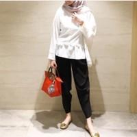 CELANA KULOT ALADIN PLISKET CUBIT MURAh muslim wear hijab fashion