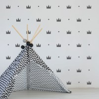 Wall Sticker Motif – Stiker Scandinavian Hiasan Dinding Dekorasi 19