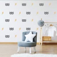 Wall Sticker Motif – Stiker Scandinavian Hiasan Dinding Dekorasi 24
