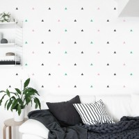 Wall Sticker Motif – Stiker Scandinavian Hiasan Dinding Dekorasi 1