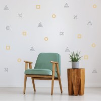 Wall Sticker Motif – Stiker Scandinavian Hiasan Dinding Dekorasi 28