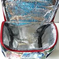 Lunch Bag Robocar Poli Aluminium Foil Tas Bekal Anak TK Playgroup