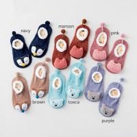 Baby Fleece Socks - Kaos Kaki Bulu - Kaos Kaki Bayi 3D