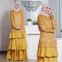 Baju Atasan Wanita Maxi Dress Baju Muslim Gamis Marisa Kubus Tashi.342