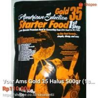Voer AMS GOLD 35 Halus 500gr