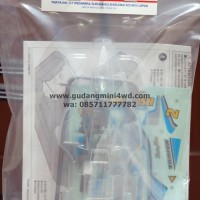 New Tamiya Vanquish Clear Body Set - ITEM 15448