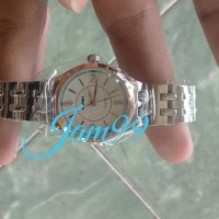 Jam Tangan Wanita Original Skmei Anti Air Casual Style Casio Rantai -