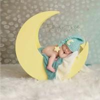 MOON STAR Topi Bayi 2-4 Baby Costume Perlengkapan Fotografi Baju Bayi