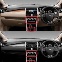 Xpander Sticker clear anti gores cover panel AC dan persneling pintu