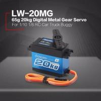 Power HD Servo Digital Metal lw-20mg 20KG RC car Truk Buggy 1/10 1/8