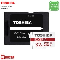 Toshiba Exceria M302 Micro SD HC UHS-I with Adapter 32GB (W409)