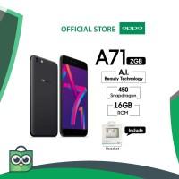 OPPO A71 (2018) SMARTPHONE 2GB/16GB Speedy Operation (COD, Garansi