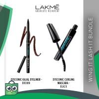 Lakme Wing It Lash It Bundle: Eyeliner   Mascara