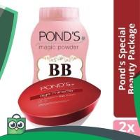 Paket Ponds BB Magic Powder   Ponds Age Miracle Day Cream