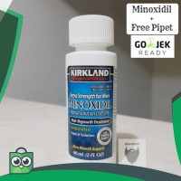 Minoxidil Kirkland 5% Original - Penumbuh rambut dan janggut