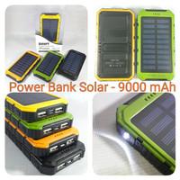Powerbank Solar 9000mah SPIN PowerCore SolarCell LED Light