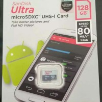 SanDisk Ultra MicroSDXC UHS-I Card 128GB
