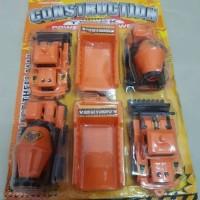 Diecast Miniatur Mobil Tambang - Set Diecast Mobil Kontruksi