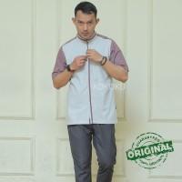 Kemeja Koko Casual baju Muslim Pria Kemko pendek Premium Hidir Softgre