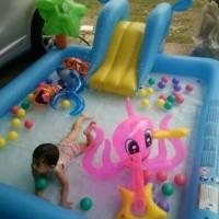 bestway kolam renang anak keluarga fantastic aquarium freepompalistrik