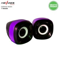 Speaker Advance DUO-040 Stereo DUO040 USB Powered XTRA POWER SOUND
