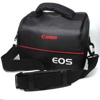 EOS Tas Selempang Kamera DSLR for Canon Nikon - Hitam