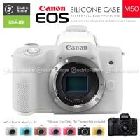 Silicone Canon EOS M50 Silikon Case / Sarung Silicon Kamera Mirrorless - BLACK
