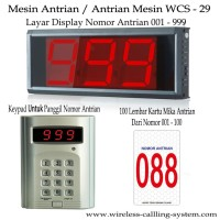 Mesin Antrian Wcs