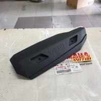 cover/tameng/pelindung knalpot xeon rc, gt125, aerox 125 HITAM