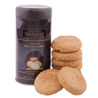 The Harvest Ginger Butter Cookies