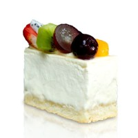 The Harvest Mix Fruit Cheesecake Portion