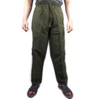 Celana panjang kolor cargo Sirwal Pria premium STD