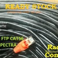 Kabel LAN Outdoor FTP Cat5E 80 Meter 80Meter 80M 80 M Siap Pakai POE