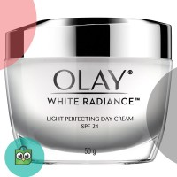 Olay White Radiance Light Perfecting Day Cream SPF 24 50g [P&G]