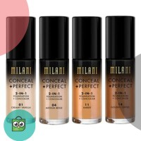 Milani Conceal   Perfect 2 in 1 2-in-1 Foundation   Concealer