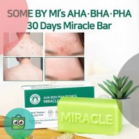 Somebymi AHA BHA PHA 30 Days Miracle Cleansing BAR / Some by me SOAP