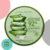 Nature republic aloe vera soothing gel 92℅ original