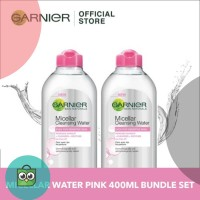 Garnier Micellar Water Pink-Bundle Set - 400ml
