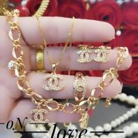 xuping set perhiasan lapis emas 24k 0711