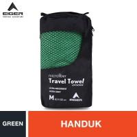 Eiger Travel Towel - Green M