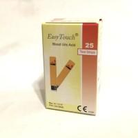 Easy Touch Uric Acid / Easytouch Asam Urat 25 test strip