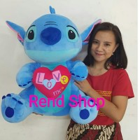Boneka Stitch Jumbo Love